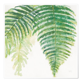 Premium poster Fern leaves III
