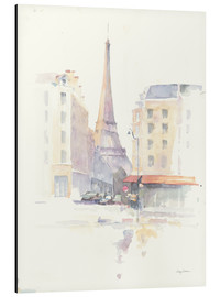 Aluminium print  Paris Morning - Avery Tillmon