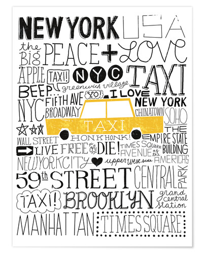 Premium poster Typically NYC III