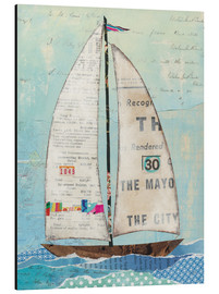 Aluminium print  At the Regatta III - Courtney Prahl