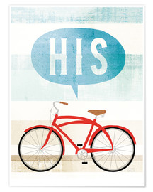 Premium poster  His bike II - Michael Mullan