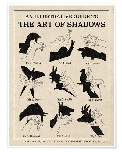 Premium poster The Art of Shadows