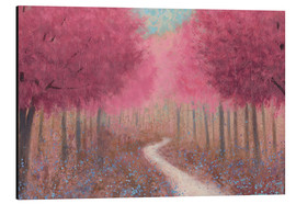 Alu-Dibond  Forest path in spring - James Wiens