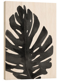 Wood  Monstera I
