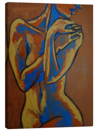 Canvas print  Graceful Lady - Female Nude - Carmen Tyrrell