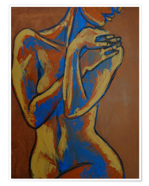 Premium poster Graceful Lady -  Female Nude