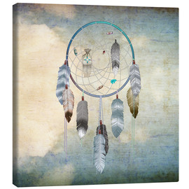 Canvas  dream catcher - Brenda Erickson
