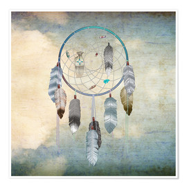 Premium poster  dream catcher - Brenda Erickson
