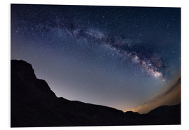 Forex  Milky Way arch and starry sky at high altitude in summertime on the Alps - Fabio Lamanna