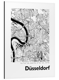 44spaces - City map of Dusseldorf