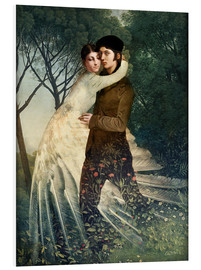 Foam board print  Josh and Abi - Cathrin Welz-Stein