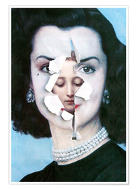 Premium poster  face to face - Waldemar Strempler