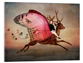 Acrylic print  Enjoy the ride - Cathrin Welz-Stein