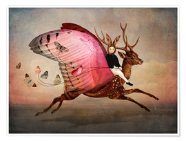 Premium poster  Enjoy the ride - Catrin Welz-Stein