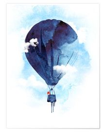 Premium poster  Fuchs flies away - Robert Farkas