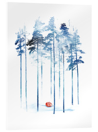 Acrylic glass  Sleeping in the woods - Robert Farkas