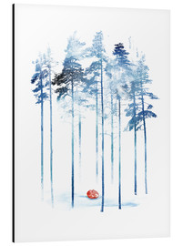Aluminium print  Sleeping in the woods - Robert Farkas
