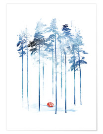 Premium poster  Sleeping in the woods - Robert Farkas