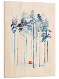 Wood  Sleeping in the woods - Robert Farkas