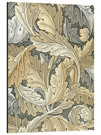 Aluminium print  Acanthus - William Morris