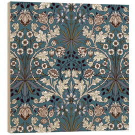 Wood print  Hyacinth - William Morris