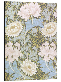 Alu-Dibond  Chrysanthemum - William Morris