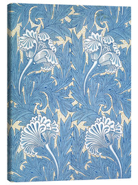 Canvas print  Tulips - William Morris