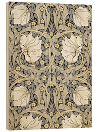 Wood print  Pimpernell - William Morris
