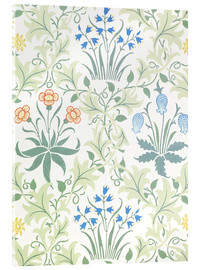 Acrylic glass  Daisy - William Morris