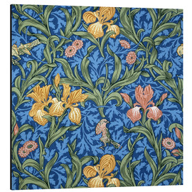 Aluminium print  Iris - William Morris