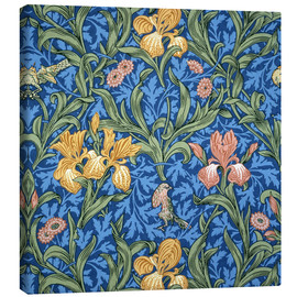 Canvas print  Iris - William Morris
