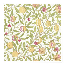 Premium poster  Fruit or Pomegranate - William Morris