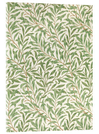 Acrylic glass  Willow - William Morris