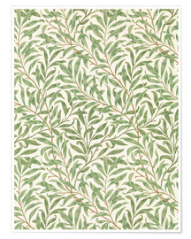 Premium poster  Willow - William Morris