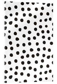 Acrylic print  Pattern with dots
