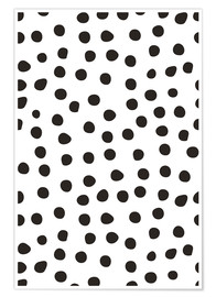 Premium poster Pattern with dots
