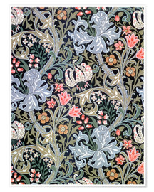 Premium poster  Golden Lily - William Morris