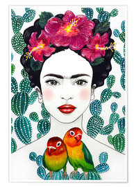 Poster  Frida's Lovebirds - Mandy Reinmuth