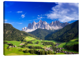 Canvas print  Summer in south Tyrol - Dieter Meyrl