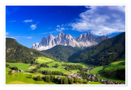 Premium poster  Summer in south Tyrol - Dieter Meyrl