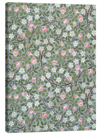 Canvas  Small pink and white flower - William Morris
