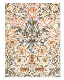 Premium poster  Lily and Pomegranate - William Morris