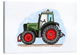 Canvas  Hugos tractor - Hugos Illustrations