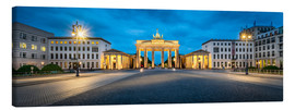 Jan Christopher Becke - The Brandenburg Gate at night, Berlin, Germany