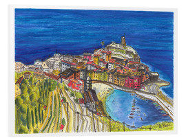 Hartmut Buse - View to Vernazza