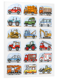 Forex  All my cars - Hugos Illustrations