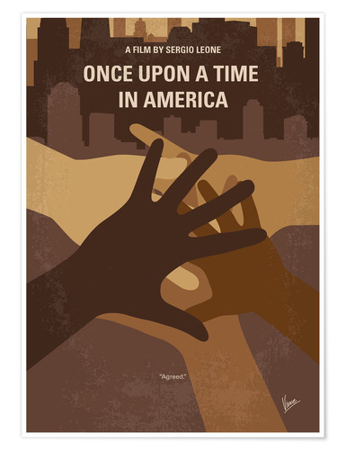 Premium poster Once Upon A Time In America