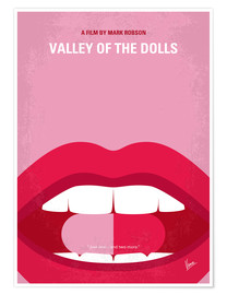 Premium poster No945 My Valley of the Dolls minimal movie poster