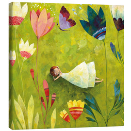 Canvas print  Flower meadow - Aurelie Blanz