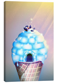 Canvas print  Igloo Flavour - Romina Lutz